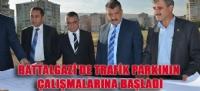 BATTALGAZİ'DE TRAFİK PARKININ ÇALIŞMALARINA BAŞLADI